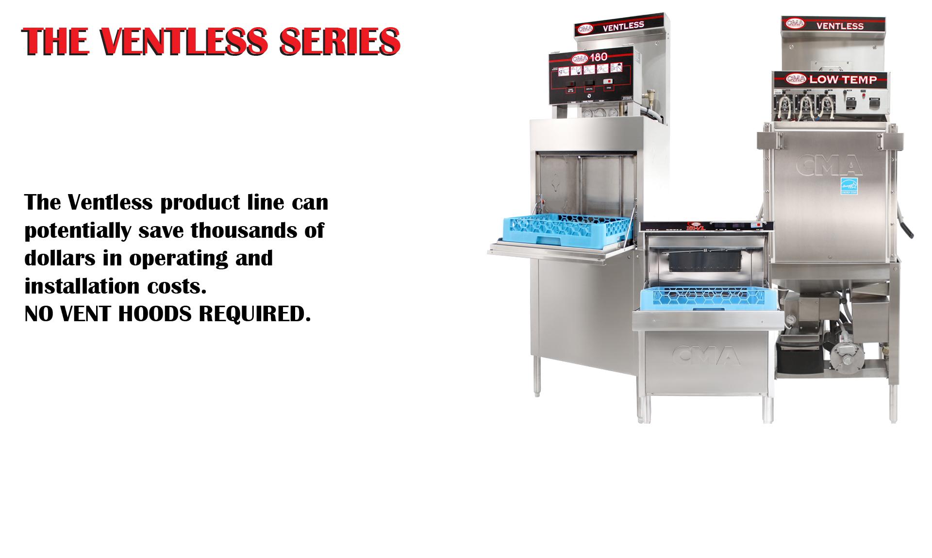 Ventless series slide