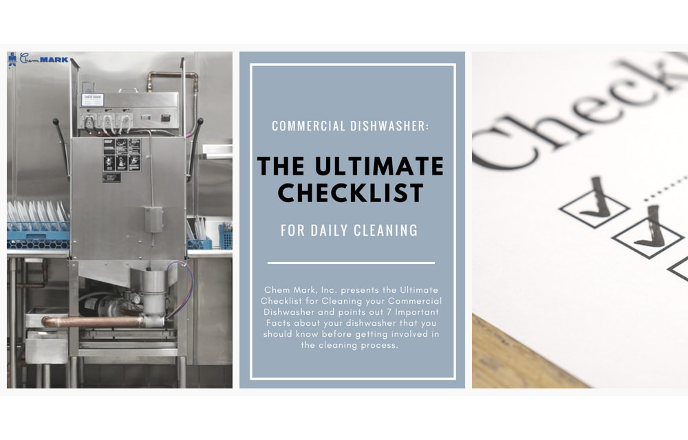 Commercial Dishwasher Cleaning: The Ultimate Checklist